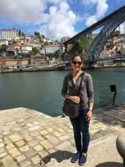 This is me in Porto, Portugal - what a beautiful city!