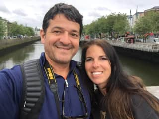 Heather and Frank Visiting Amsterdam