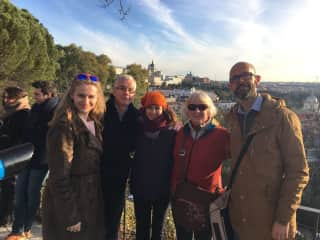 Madrid walking tour with new friends from VaughanTown