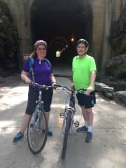 Riding the Silver Comet Trail