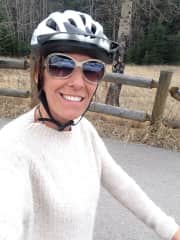 Cycling in Canmore, Alberta