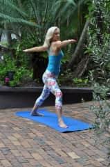 Maree loves yoga