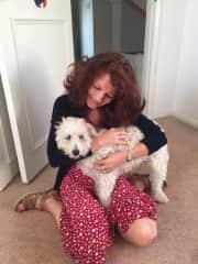 Archie the cuddler