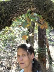 Me - Gabriele - on a fall hike in the Napa Valley, CA