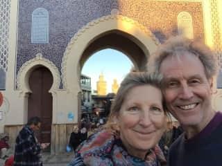 Fez, Morrocco; the Blue Gate