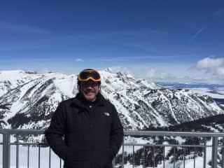 Spring skiing Jackson Hole Wyoming