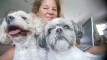 Cooper and Daisy and me
