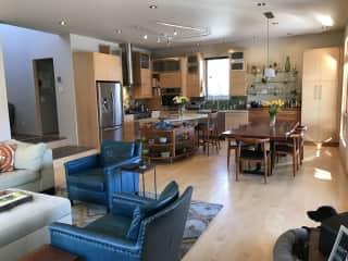 Main House Living & Kitchen