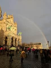 Rainbows in Paris