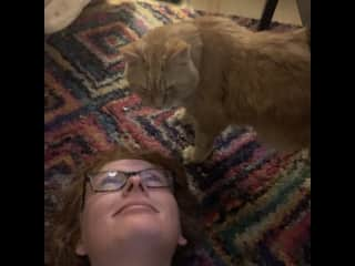 Garfield and I having some more quality time