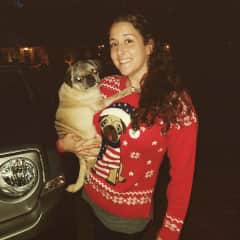 Happy Pugmas from me & my Bruno!
