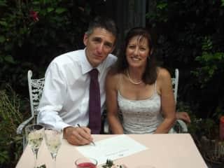 Robert and Linda Blencowe 2013