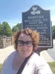 Me at Woodstock. A dream come true.