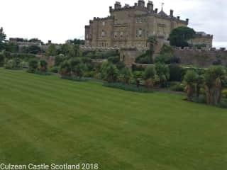 Culzean Castle Scotland July 2018