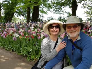 Beth and Jeff Pierson in the Netherlands