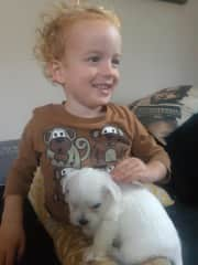 Caelan and Louis in NZ