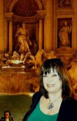 Here I am at the Trevi Fountain in Rome!