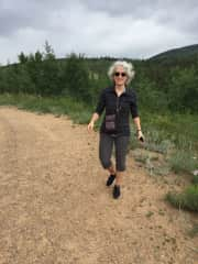 Out walking in Colorado