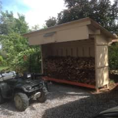 I built this wood shack