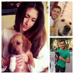 Sonia y Ruben con Mascotas a nuestro cuidado