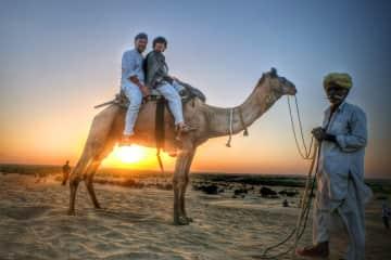 In the desert of Jaisalmer