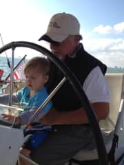 Bill and soon to be sailor