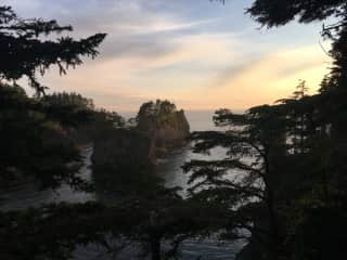 View from Cape Flattery during a road trip in 2019.