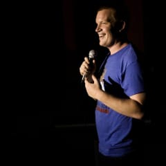 Stevo is a stand-up comedian and has performed in 14 countries so far.
