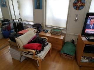 Bedroom, left side