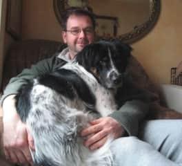 Rob with Otis