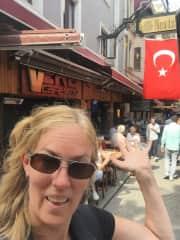 Traveling in Instanbul