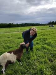 Eli at the ranch