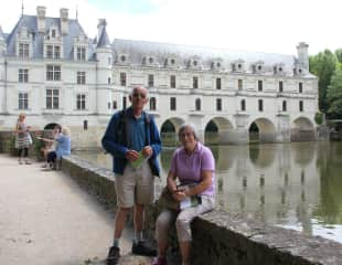 Dan and me in the Loire