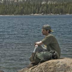 Michael, Lake Tenaya, Yosemite