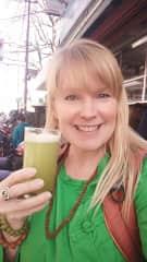 In Rishikesh Spring 2019, enjoying fresh sugarcane juice!