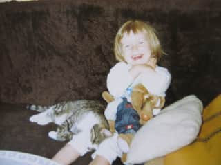 I've been a cat lady since I was little