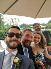 Matt Jacobs (center) & Friends