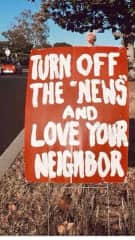 I think American media scares everyone into staying home.  The entire world is my neighbor.  Lets help each other!