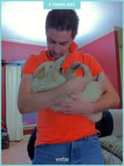 My lil Nala bear as a puppy
