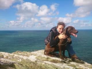 Wispa and I, Cornwall