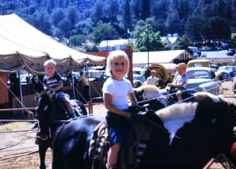 I started young with horses