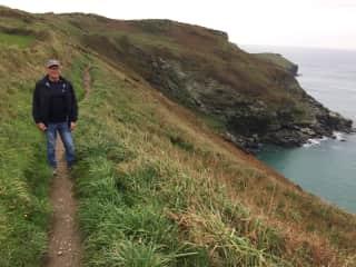 Hiking in beautiful Cornwall