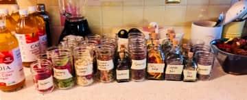 Making vinegars!