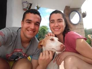 Rafa & Trini with Peter