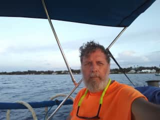 On the sailboat in Florida, 2018
