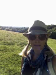 Out with my walking group - Cotswold Natural Mindfulness - in Timbercombe Woods, Gloucs