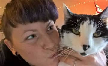 Me and Winston (RIP), my favorite cat ever