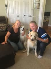 Mary Ann, CJ, Sophie and Stanley in St. Catharines Ontario