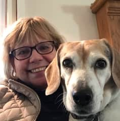 Beagle Bailey and Terri