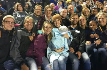 Family + College Football Game = Lot's of Fun!